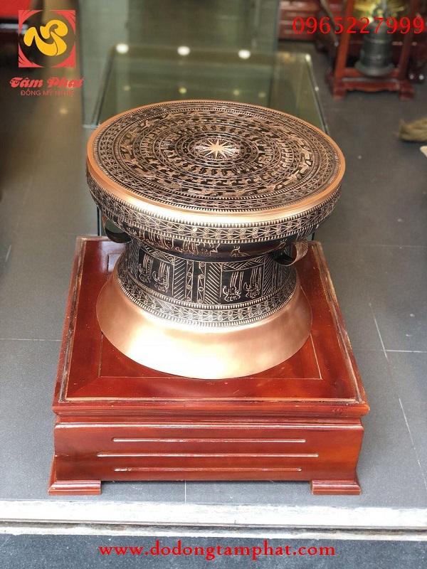 Tổng hợp một số loại trống đồng đẹp tại Tâm Phát