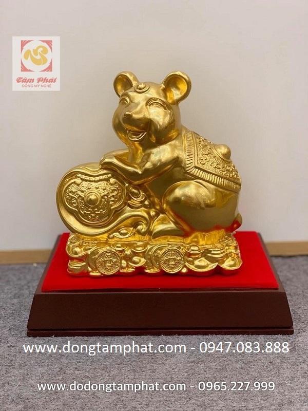 TOP linh vật chuột vàng tài lộc Hot nhất dịp Tết Canh Tý 2020